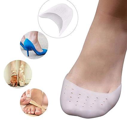 pedimend silicona Gel Toe protectores tapas (par) - Ballet Pointe zapatos almohadillas con transpirable