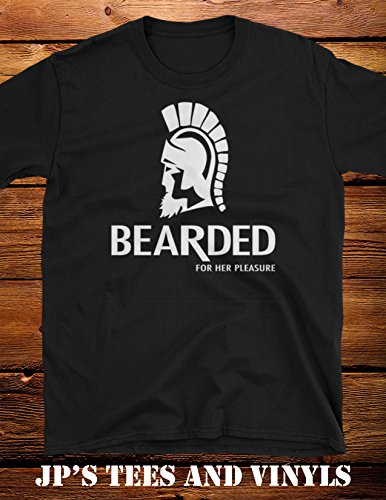 Bearded For Her Pleasure Funny Trojan Shirt (Trojans Tee)