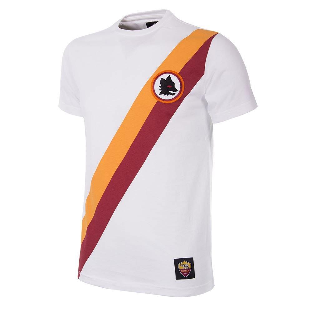 Copa AS Rom Away Retro T-Shirt - weiß