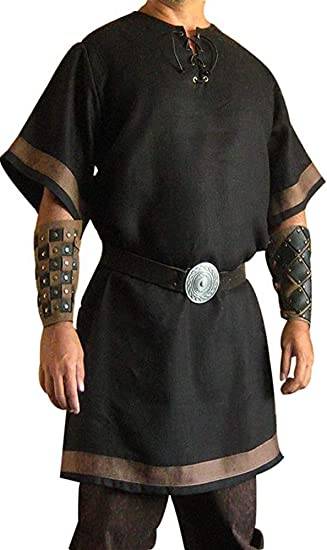 Medieval Celtic Viking Tunic With Full Sleeves Renaissance Shirt SCA LARP Gift
