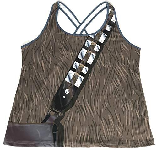 DisneyParks RunDisney I Am Star Wars Chewbacca Exercise Running Fitness Tank Top Womens (4XL) ()