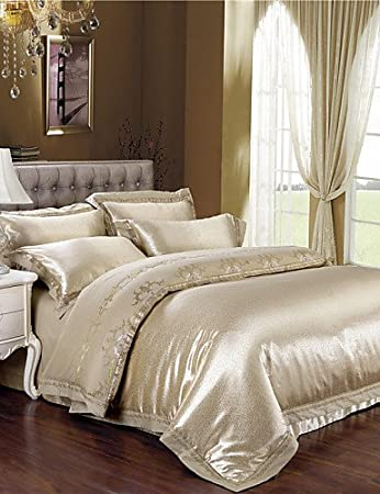Zq Schlagbohrmaschine Licht Gold Bettwäsche Elegante Geschenke Für