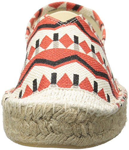 Dirty Laundry Women's Elson Flat Coral Tribal Linen K6niPoc