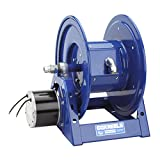 Coxreels 1125PCL-8M-EA  Electric 115V Explosion Proof 1/2HP Motor Rewind Hose Reel: 12 AWG, 3 Conductors, 250' cord capacity, less cord, 600V, 45 AMPS