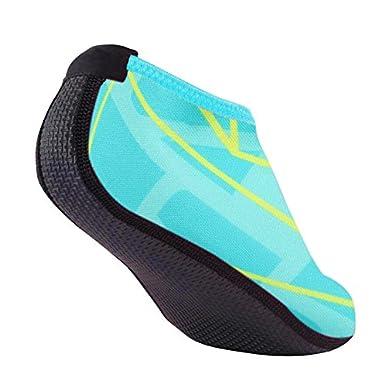 YEARNLY Schwimmschuhe Damen Herren Strandschuhe Surfschuhe Aquaschuhe Barfu/ß Badeschuhe f/ür Wassersport Beach Pool Surfen Yoga