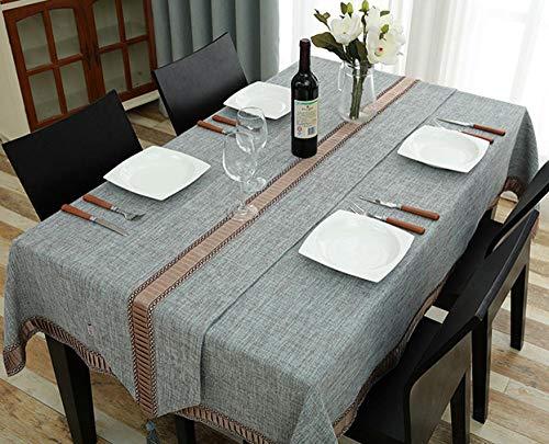 JESSIEBUKA Nappe Rectangulaire Moderne De La Mode Européenne Table Basse en Tissu Table en Tissu Table à Manger Cuisine Maison Hôtel, 140  200 Cm