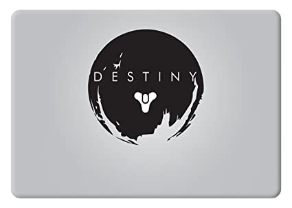 Destiny logo the traveler video game apple macbook decal vinyl sticker apple mac air pro retina