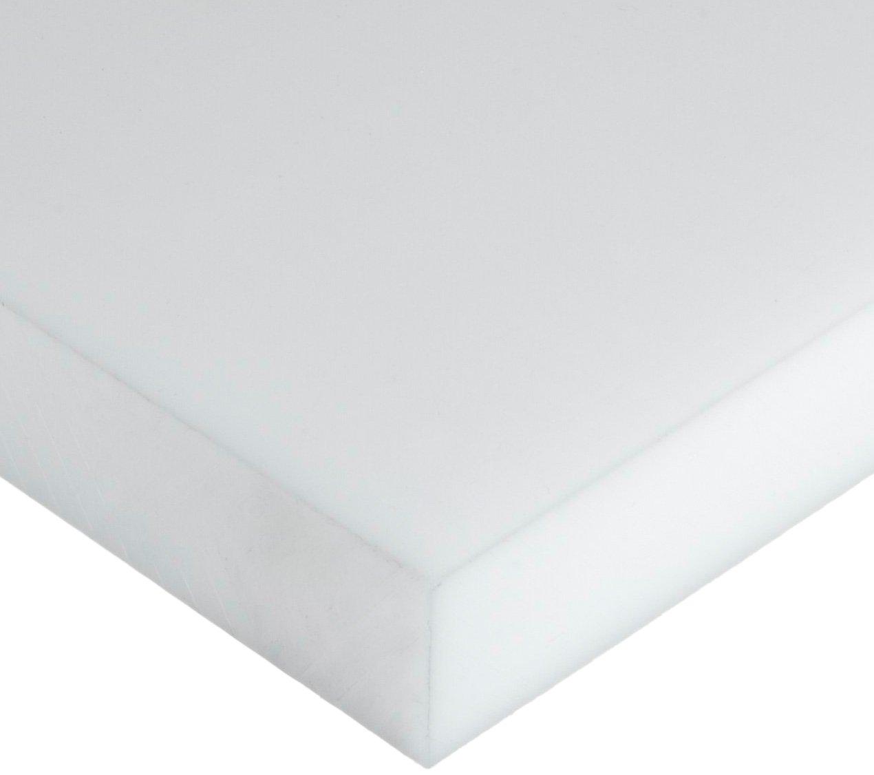 ASTM D6100//UL 94HB Opaque Off-White Acetal Copolymer Sheet Standard Tolerance