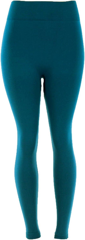 Docele Womens Regular /& Plus Size Fleece Lined Leggings