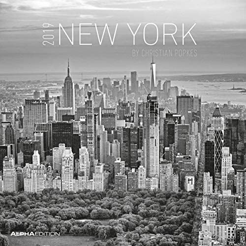 """Calendario Da Muro """"New York"""" 2019 30X30 Cm"""