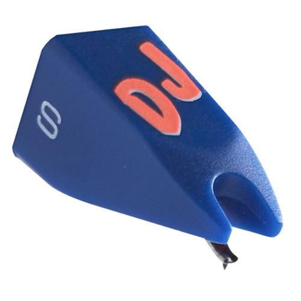 ortofon DJ S Stylus Stylus Stylus bola de ordenador portatil de cabezales Concorde y Om la serie DJ S, azul Stylus DJ S