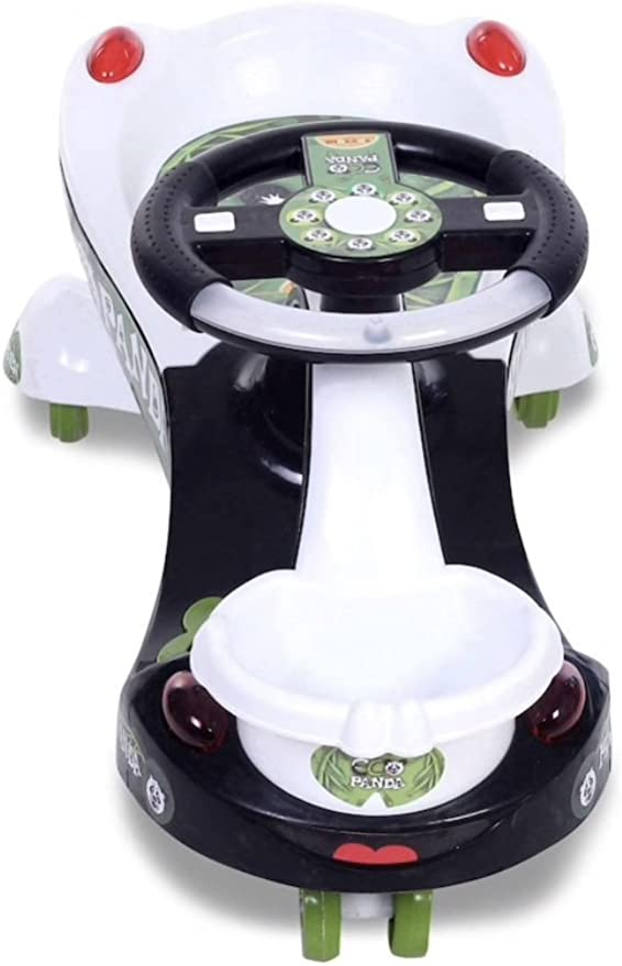 Toyzone Eco Panda Magic Car/Swing Car for Kids