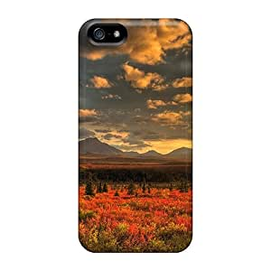 New OrangeColor Super Strong Landscape Tpu Case Cover For Iphone 5/5s