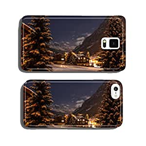 Winter night view of the tasch valley cell phone cover case Samsung S6