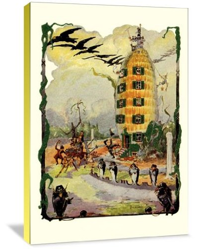 Wizard of Oz - Jack Pumpkin's House of Corn - fall wall decor