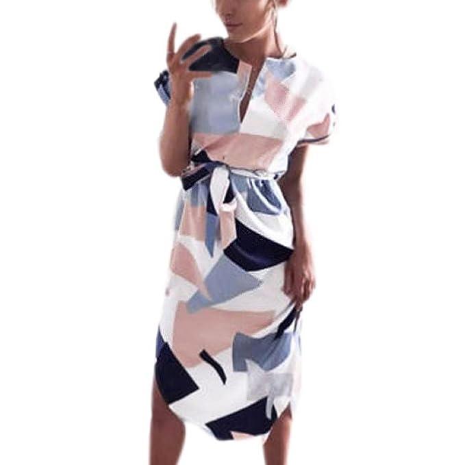 vestidos verano mujer cortos, Sannysis faldas de fiesta para bodas cortos: Amazon.es: Ropa y accesorios