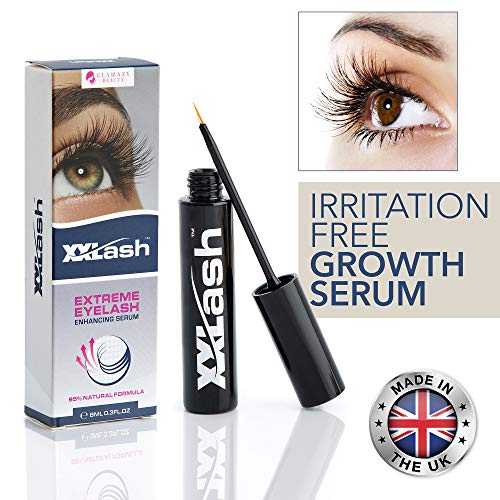 Eyelashes Serum Eyelash Growth Serum Lash Serum Natural Eyelashes Lash Growth Serum Lash Boost Brows Growth Serum Lash Serum:For Dramatic Fuller, Darker & Thicker Lashes and Brows, Irritation Free 8ml
