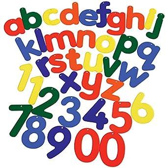 Constructive Playthings CHG-422 Letras y números de mesa de luz 38 ...