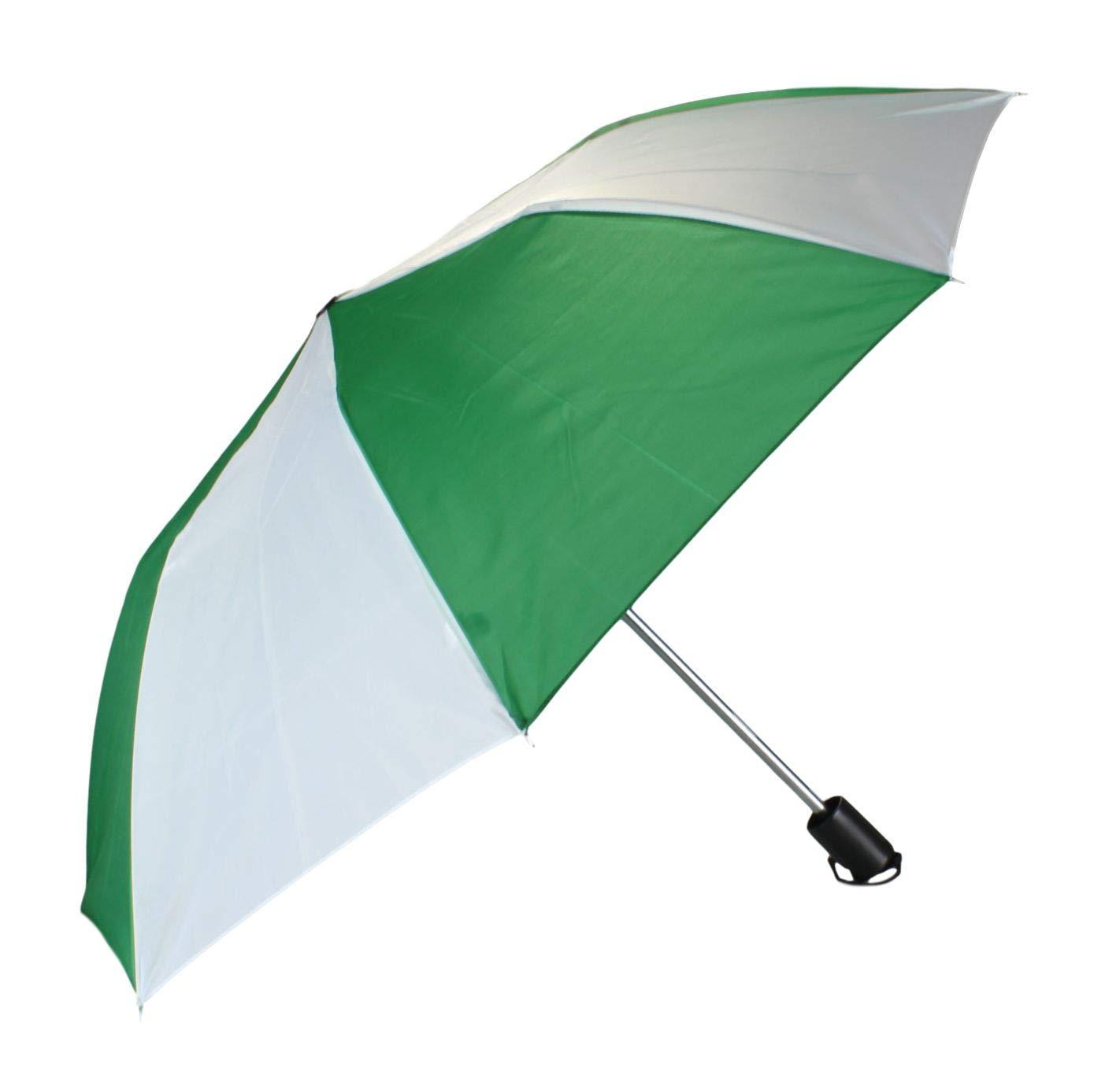 Parapluie Pliant /à Ouverture Automatique Parapluie de Poche en Blanc