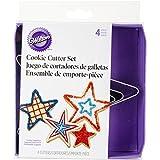 Wilton 2308-1215 Nesting Metal Cookie Cutter Set, Stars