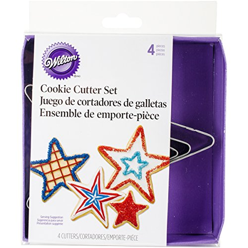 (Wilton Stars Nesting Metal Cutter Set)
