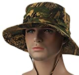 YOYEAH Outdoor Camouflage UV Sunscreen Sun Hat Jungle Fisherman Hat Hunting Hat
