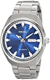 Seiko Men's SNKN41 Analog Display Automatic Self Wind Silver Watch