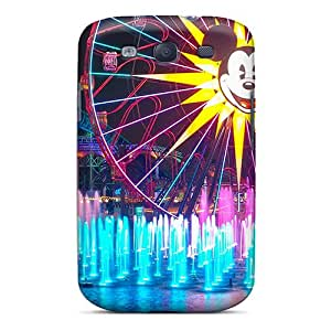 Quality Megan A Ferguson Case Cover With World Of Color Nice Appearance Compatible With Galaxy S3