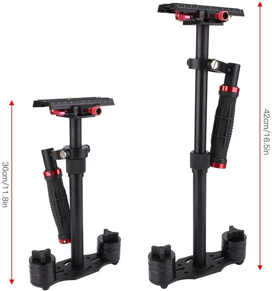 Pomya PRO Handheld Steadycam Video Stabilizer Handle Grip Steady Support for Digital Camera Camcorder DV DSLR SLR Compatible with GoPro Cannon Nikon
