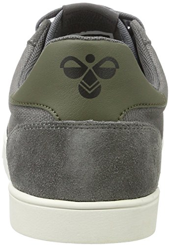 Hummel Unisex Adults' Slimmer Stadil Duo Canvas Low-Top Sneakers, Grey Grey (Castle Rock 2600)