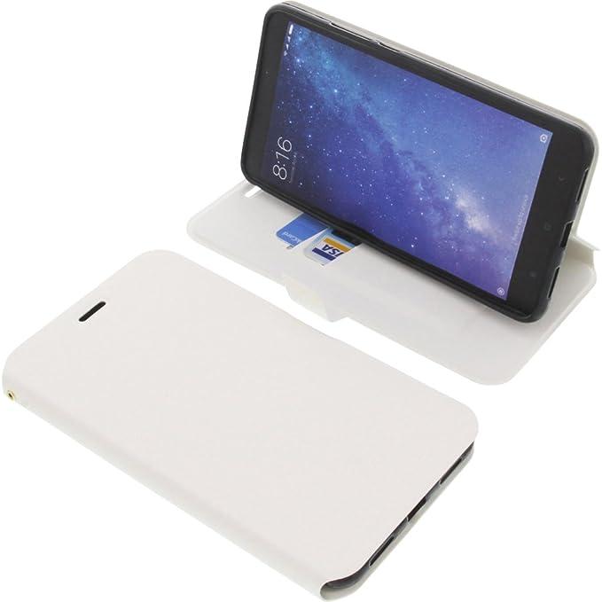 foto-kontor Funda para Xiaomi Mi MAX 2 Estilo Libro Blanca ...