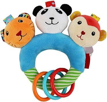 0 3 JAHRE BABY Rasseln Hand Glocke Spielzeug Kinder Tier