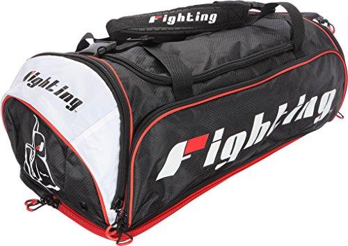 Fighting Gear (Fighting Sports Tri-Tech Endurance Bag, Black/White)