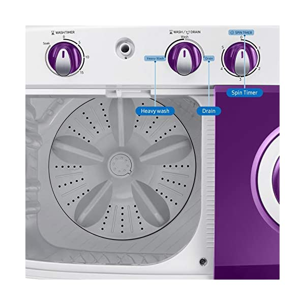 Samsung 6.0 Kg 5 Star Semi-Automatic Top Loading Washing Machine (WT60R2000LL/TL, Light Grey, Center jet technology) 2021 June Semi-automatic top-loading washing machine; 6.0 kg capacity Best Wash Quality and Water efficient Energy Efficient Model comes with 5 star rating Manufacturer Warranty: 2 years on product and 5 years on motor