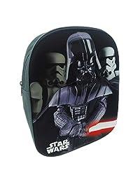 Children's Official Star Wars Darth Vader Backpack with Hard-Shell 3D Design