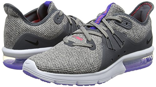 Gris Mujer Grey Wmns Para dk Sequent 013 Max Nike De moon Particle Running 3 Zapatillas Air black 4vqxSSwzT
