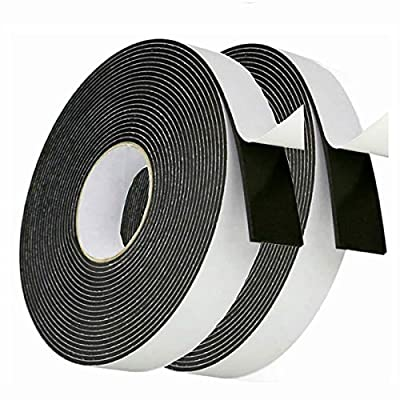 High Density Foam Tape Weather Stripping Insulation Soundproofing Closed Cell Foam Single Side Adhesive Tape