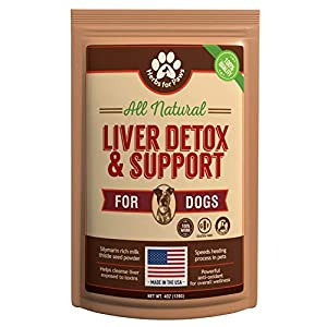 Liver Support for Dogs, Milk Thistle for Dogs and Cats, Supplement Without Capsules, Pills 11