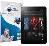 Tech Armor Kindle Fire HD Screen Protector, High Definition HD-Clear Amazon Kindle Fire HD 8.9 (2012) Film Screen Protector [2-Pack]