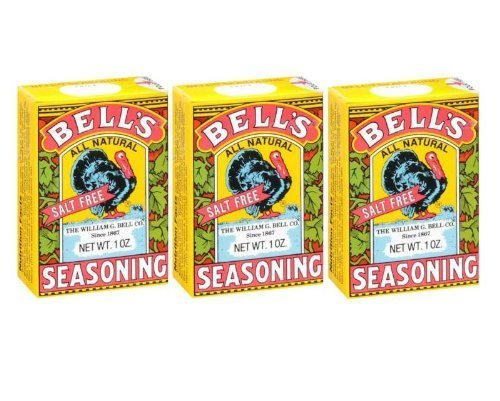Department Bell (Bell's All Natural Salt Free Poultry / Turkey Seasoning 1 Oz (Pack of 3))