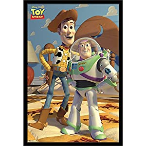 Trends International Disney Pixar Toy Story – Pals, 22.375″ x 34″, Black Framed Version