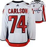 John Carlson Washington Capitals 2018 Stanley Cup Champions Autographed White Adidas Authentic Jersey with 2018 Stanley Cup Final Patch - Fanatics Authentic Certified