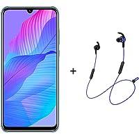 """Huawei Y8P Smartphone,Dual SIM,128 GB ROM,6GB RAM,48MP,4000mAh,6.3"""" Display - Breathing Crystal + AM61 BT Headphones"""
