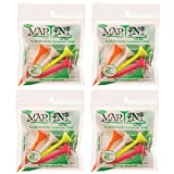 2 3/4'' Midsize Martini Golf Tees - 4 Packs of Mixed - 20 Tees Total - Virtually Unbreakable