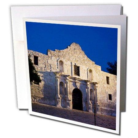 The Alamo, San Antonio, Texas, USA - Brian Jannsen - Greeting Cards, 6 x 6 inches, set of 12 (gc_146612_2)