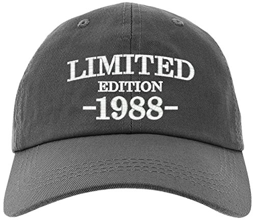 Cap 30th Birthday Gift, Limited Edition 1988 All Original Parts Baseball Hat