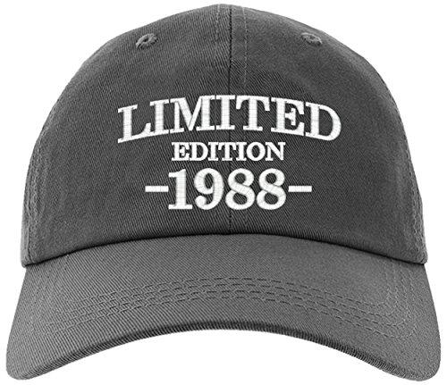 Cap 30th Birthday Gift Limited Edition 1988 All Original Parts Baseball Hat
