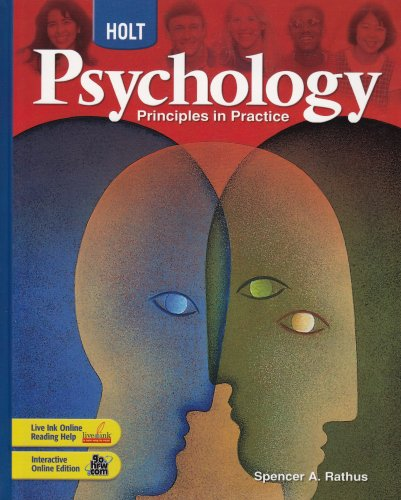 Holt Psychology: Principles in Practice: Student Edition 2007