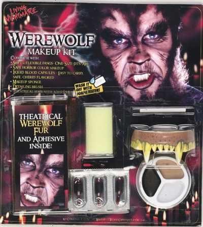 Werew (Werewolf Costume Makeup)