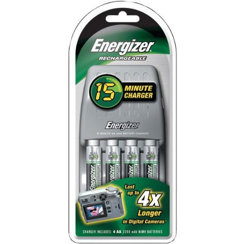 Energizer 15 Minute Battery Charger Adapter